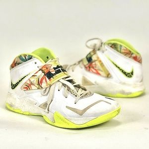 NIKE MEN'S LEBRON ZOOM SOLDIER VII 599264-103 8.5